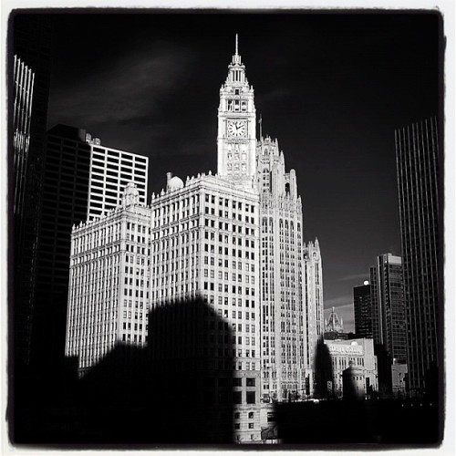 The Wrigley Building. #architecture #chicago #building  (Taken with Instagram)
