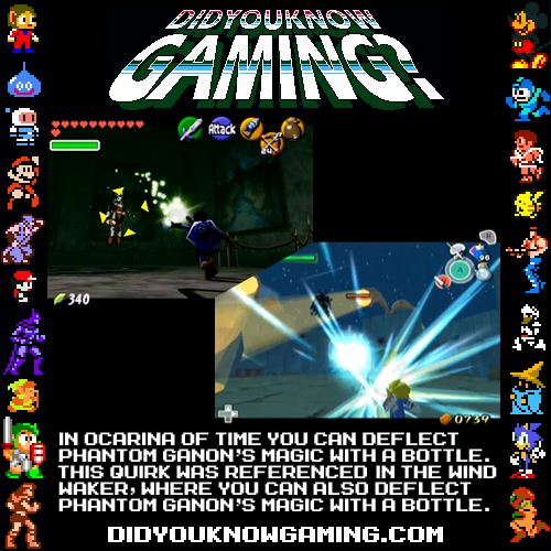 didyouknowgaming:  The legend of Zelda. Submitted by Max Bartlett.
