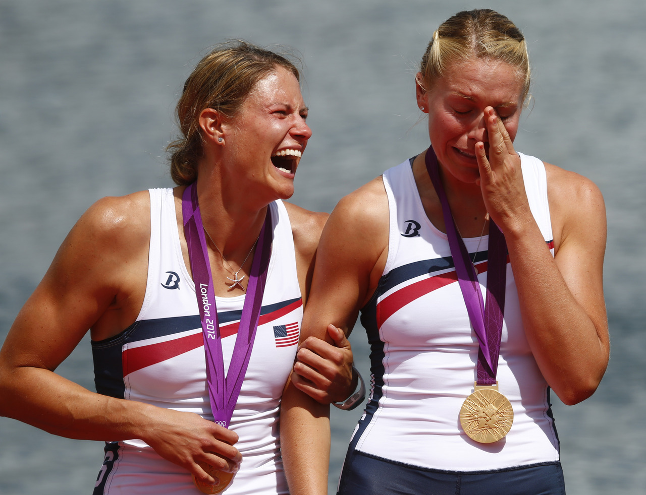 "The United States powered to gold in the flagship women's Olympic eight on Thursday after fighting off fierce rivals Canada to maintain their stunning six-year winning streak and cap a thrilling day of racing on Dorney Lake. The American women's crew are likely to receive a heroes welcome following their emphatic win on the course to the west of London which confirmed their dominance of the event. Having taken a half a length lead over Canada and the Netherlands in the early stages they had to hold on as their neighbours came back at them before 25,000 roaring fans packed into the course to the west of London. ""This was awesome, at the end I don't think I could have pulled one more stroke,"" Caroline Lind told reporters on the side of the lake after they had earlier punched the air and splashed the water as they crossed the line. ""We got the gold and that is what mattered."" READ ON: U.S. rowers storm to gold"