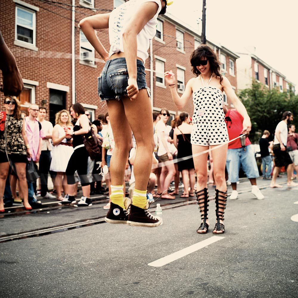 Mad Decent Block Party. Philadelphia 2008.