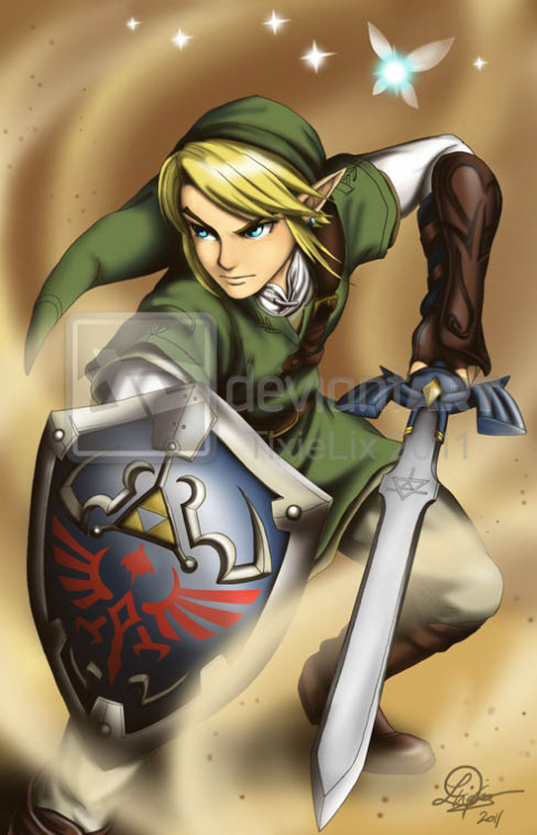 khroxas:  Legend of Zelda: Link by *TixieLix