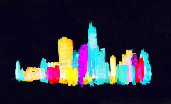 """Colour City"" by Robert Farkas"