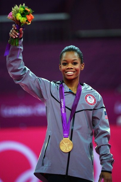 Congrats to Gabby Douglas on winning GOLD for the Women's All-Around!!!!!!!