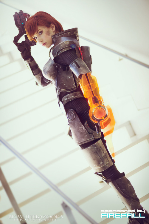 I just got another photo of my FemShep cosplay!