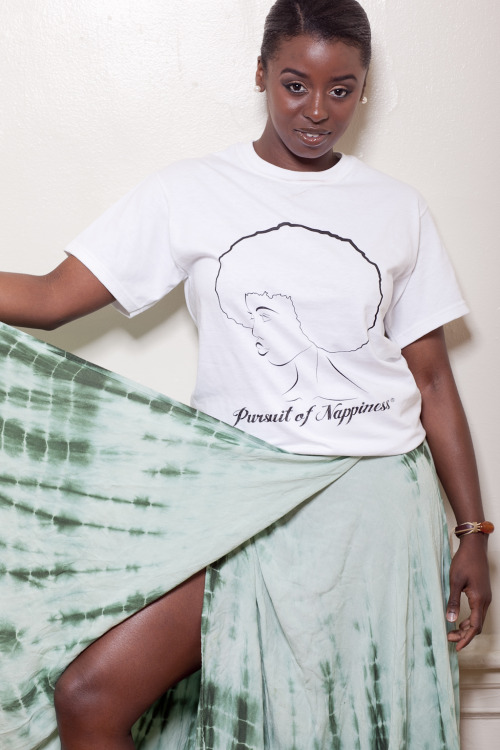 blackfashion:  Shaina 23  New Orleans I am the creator of Pursuit of Nappiness T's follow me @theshainalynn Click to purchase