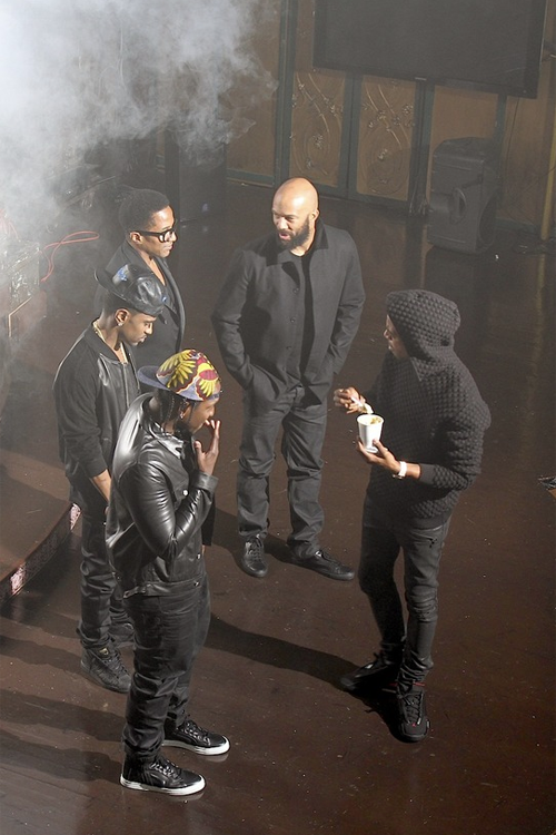 getthatsnitch:  Big Sean x Pusha T x Common x Scott Mescudi
