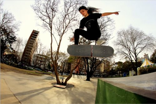 Camila Ruiz from Argentina. Photo by Emanuel Tato Chavez