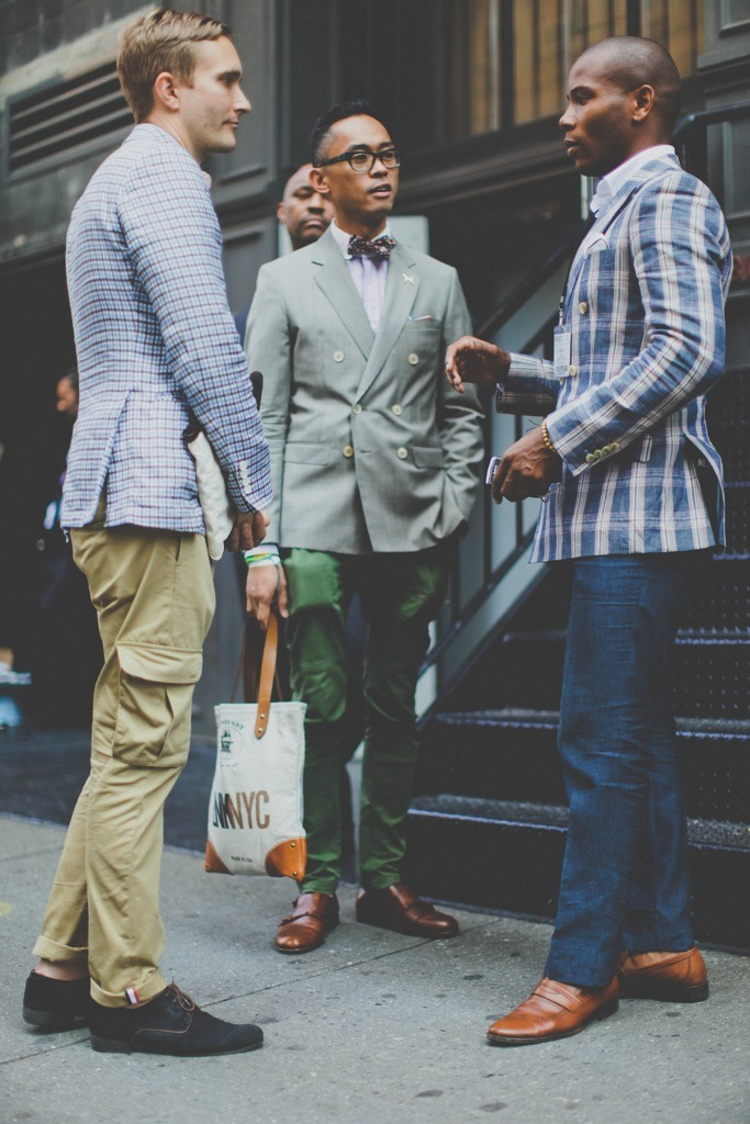 #DressWell this is how you do it : @MensStylePro casual yet dapper virile:  Matt & Enrique