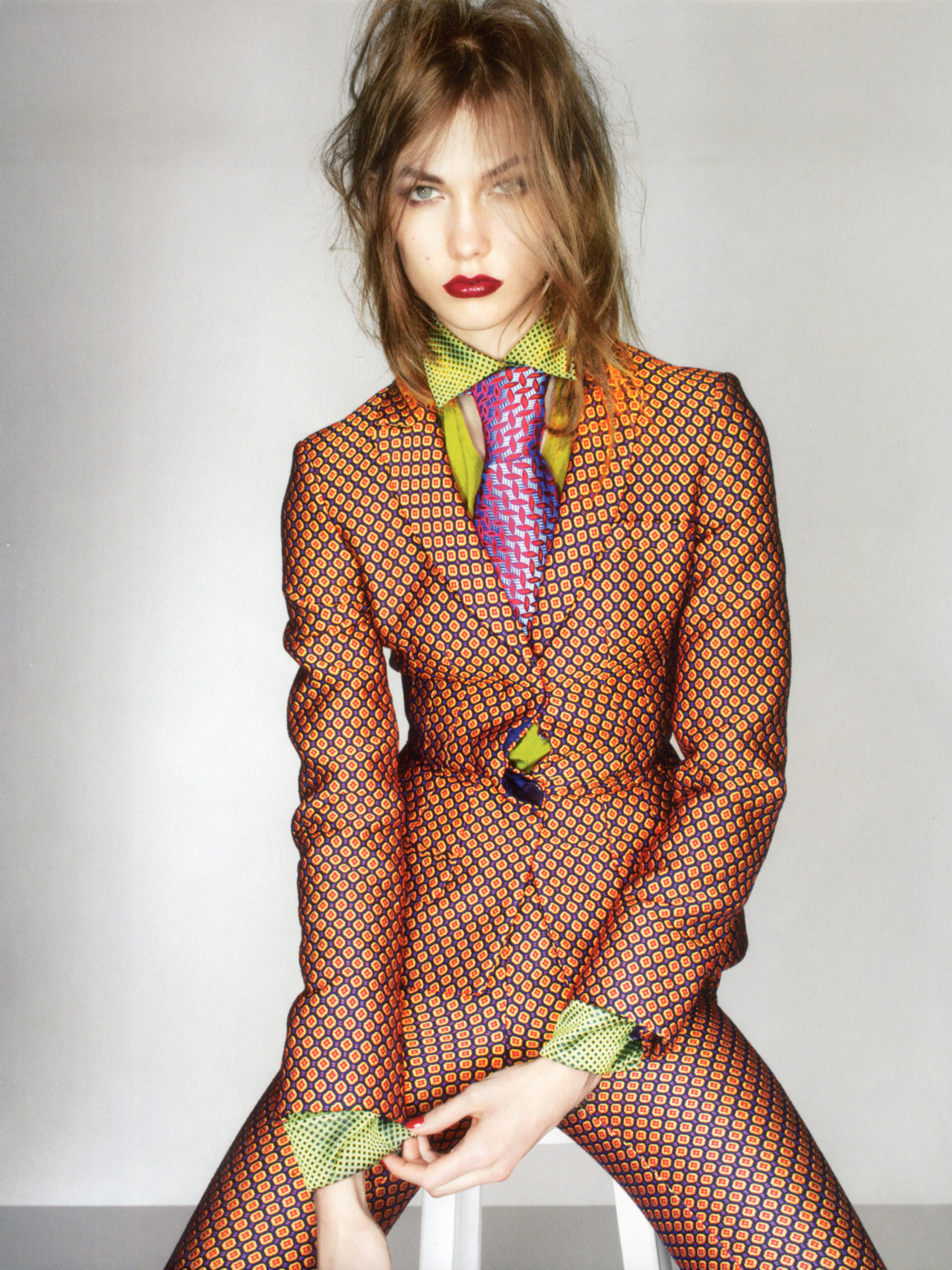 bohemea:  Karlie Kloss: Dandy Haze - Vogue UK by Nick Knight, September 2012