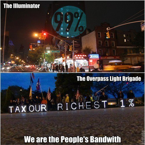 #OWS #Occupy #TheIlluminator @OLBLightBrigade Tomorrow night, join us in Madison as we usher in the beginning of Geo-Graphics, a collaboration on messages across time zones, linked in virtual space.  Watch live on Global Revolution beginning at 8:15p (CST) if you can't join us in person.http://globalrevolution.tv/