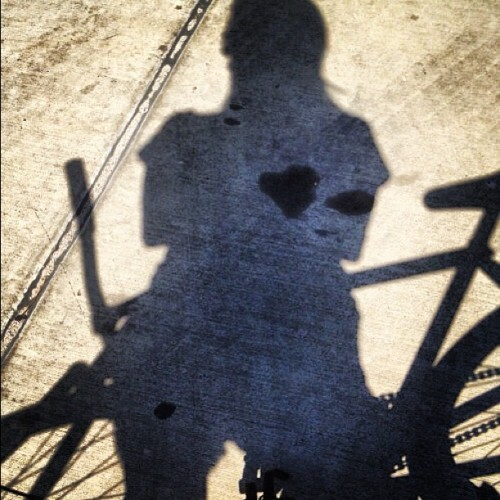 Cycling is where my heart is… (Taken with Instagram at Fast Folks Cyclery)