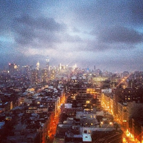 View from B-reel NY.  (Taken with Instagram)