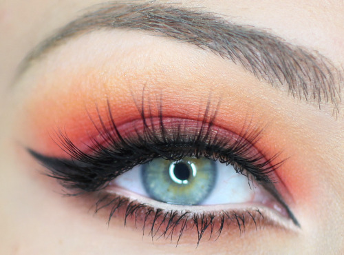 Gorgeous fiery eyes by Catherine G.!