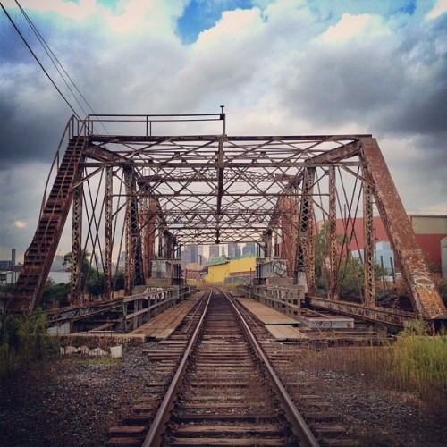 Right of way #decay #bridge #traintracks (Taken with Instagram)
