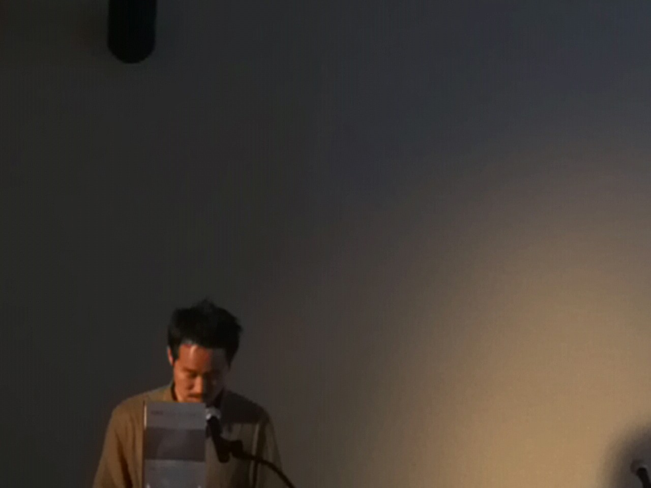Jeffrey Yang reads from Liu Xiaobo's June 4th Elegies