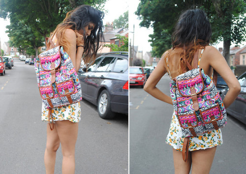 I want her backpack <3