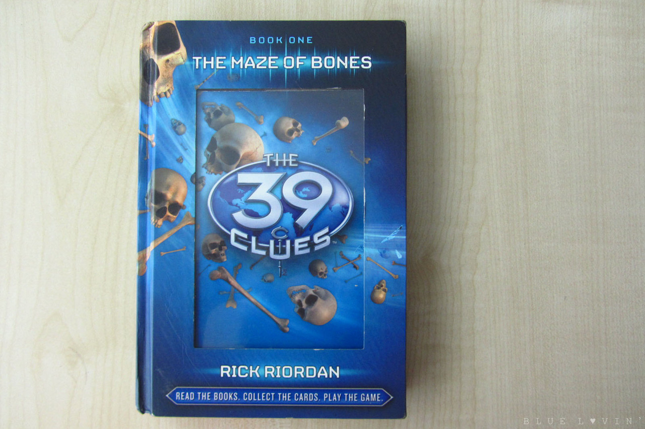 I just finished reading the first book of The 39 Clues, The Maze of Bones, a book recommended by a friend. It's such an amazing book! I so want to read the 10 remaining books because the adventure of finding the 39 clues doesn't end on the book one! How I wish I could have my own copy of all the books. If you know someone who sells or a place where I can buy the complete set, please let me know. :)