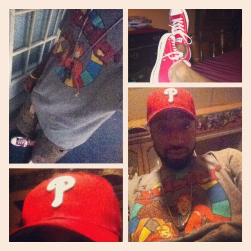 Always chilling #phillies #chucklife  (Taken with Instagram)