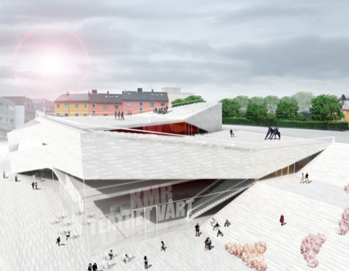 Cultural Center 'Plassen' by 3XN