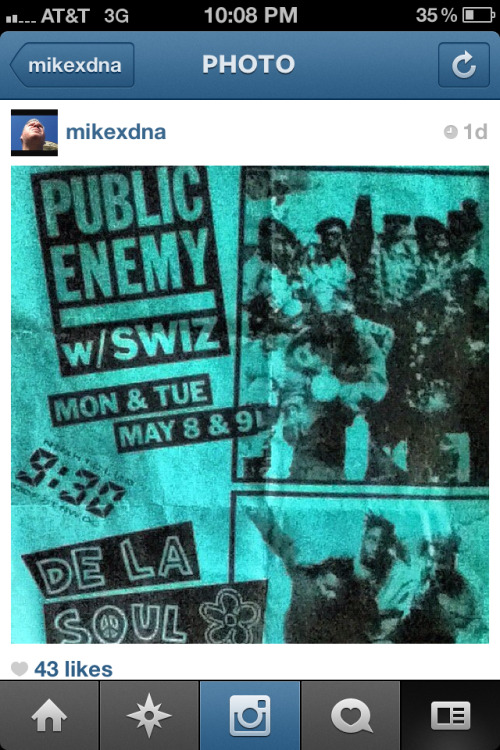 Public enemy and swiz at the old 930 club in dc