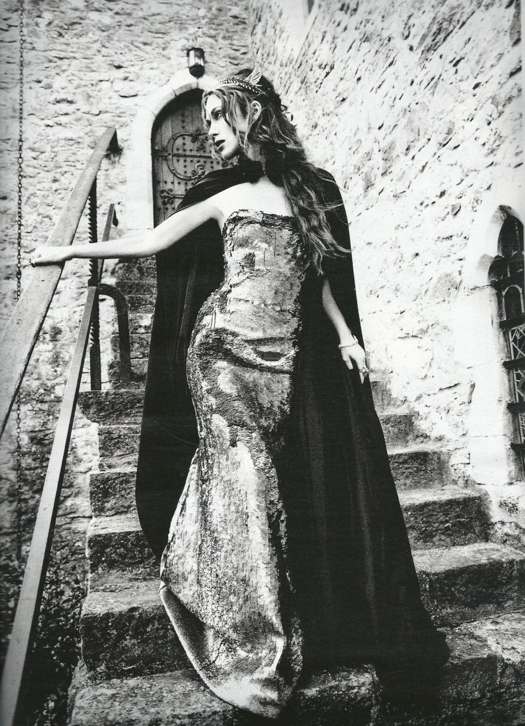 Keira Knightley photographed by Ellen von Unwerth for Harper's Bazaar UK, September 2012
