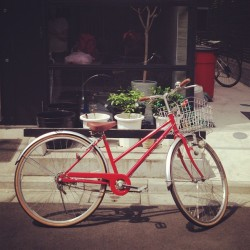 Transport for the day. #bike #travel #japan  (Taken with Instagram at kangaroo hotel)