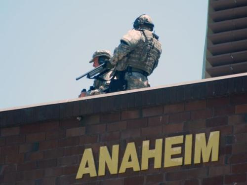 Anaheim, CA: The first battle ground of the NDAA? (Disturbing Photos)