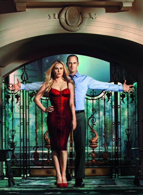 2012 Tv Guide Anna Paquin and Chris Meloni