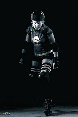 Katarina Hit, North Star Roller Girls. Photo by flickr user Slowtypist