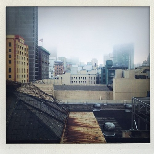 "Another view from a ""delux room"" (Taken with Instagram)"
