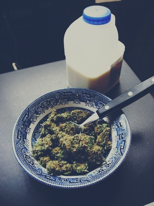 sayhellotoyourleader:  Nothing like a good bowl for breakfast…Haha