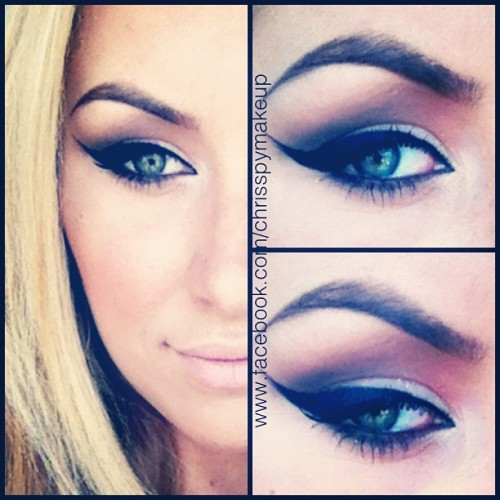 Holy eyeliner! #makeup #eyes #ilovemaciggirls  (Taken with Instagram)