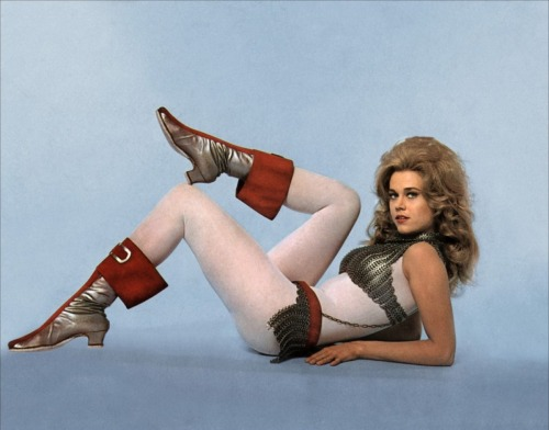 Jane Fonda as Barbarella, 1968.
