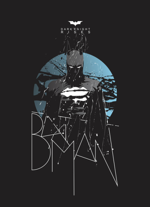 assorted-goodness:  Dark Knight - by Dimitris Evagelou Website || Facebook || Behance