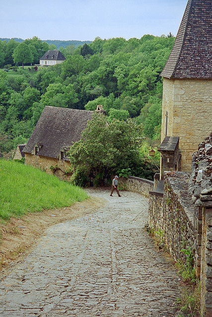 | ♕ |  French country road - Perigord, Dordogne  | by © Dale Musselman