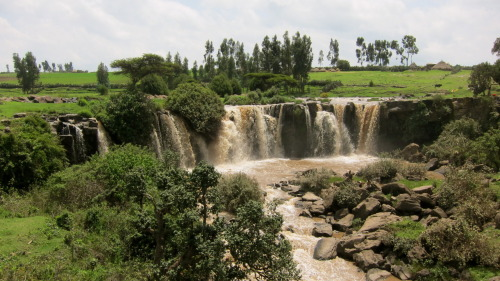 Wabe Shabelle, one of the closest water falls from our house.