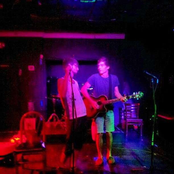 36th Street Lounge. #me#openmic#crocodiletears#stage#Sam  (Taken with Instagram)