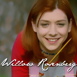 30 Days of Awesome Teen Girls, Day 29: Willow Rosenberg from Buffy the Vampire Slayer.