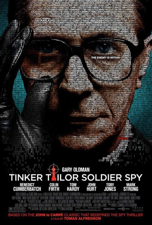 Tinker Tailor Soldier Spy (2011) It's got a really solid cast, it looks fantastic and is very well-shot. However, I couldn't really get into this one. I'm not sure this type of film is for me. The pacing was quite slow, yet I had a little bit of trouble understanding what was going on some of the time. It did have some really cool moments though, and I really liked the final sequence. I wouldn't want to discourage anyone from seeing this, but I don't think it's for everyone.