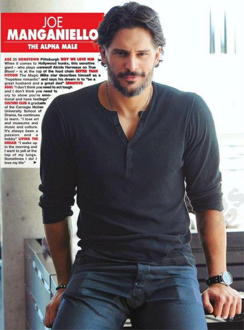 fuckyeahjoemanganiello:  Hello!Canada: Hottest Bachelors of 2012 (Readable scan)