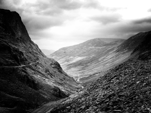 relucent:  Honister Pass, Borrowdale Cumbria (by Grangefirth)