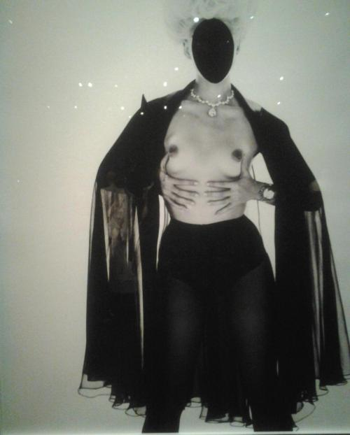 realityayslum:  Mert Alas & Marcus Piggott - Untitled (Daphne Groeneveld). Gaultier, Parisiennes collection, haute couture fall / winter 2010-2011. Published in Vogue (Paris), October 2010. … photograph taken yesterday at The Fashion World of Jean Paul Gaultier: From the Sidewalk to the Catwalkexhibit at the San Francisco De Young Museum. Hurry up if you haven't seen the exhibit … ends soon (August 17th)