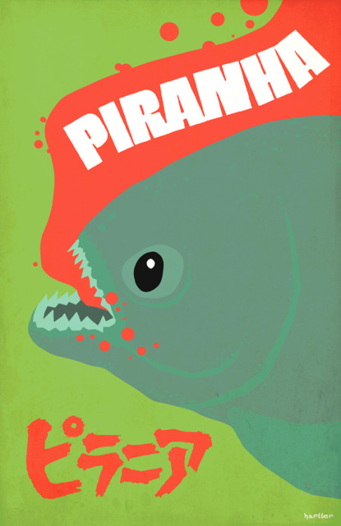 Piranha by Sean Hartter