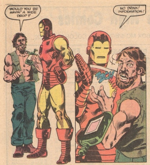 RUDE, Tony. Iron Man #163