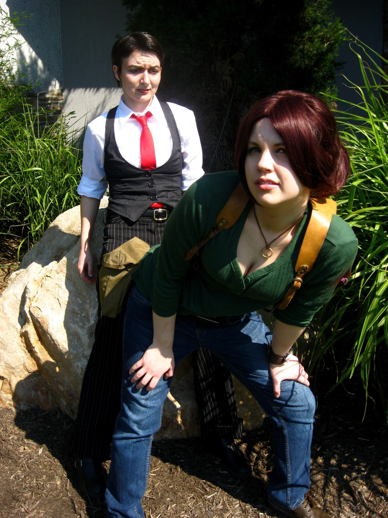 lady-of-rohan:  More genderbent Uncharted with miss Del from Colossalcon this year! ;D You can see more here, here, and here.  Ohmygosh, Miss Del, you have the best features for Marlowe and Talbot. So elegant.