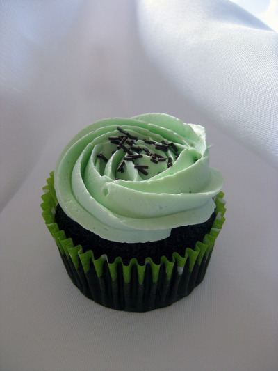 Chocolate Mint by CupcakeQueenSB on Flickr.
