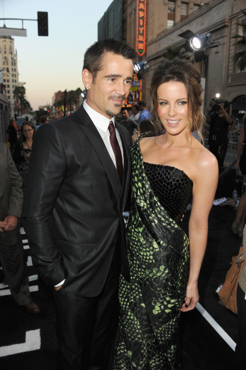 Colin Farrell and Kate Beckinsale | 'Total Recall' Premiere at Grauman's Chinese Theatre in Hollywood - August 1, 2012