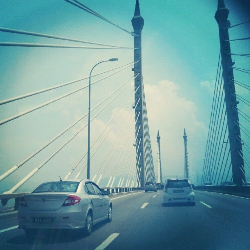 Penang's Bridge (Taken with Instagram at E36 Jambatan Pulau Pinang)
