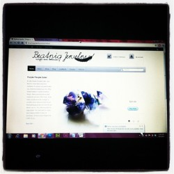 Finally open! Http://beatniqjewelry.com #beatniq #jewelry #leather #feathers #gemstones #boho #hippie #tribal  (Taken with Instagram)