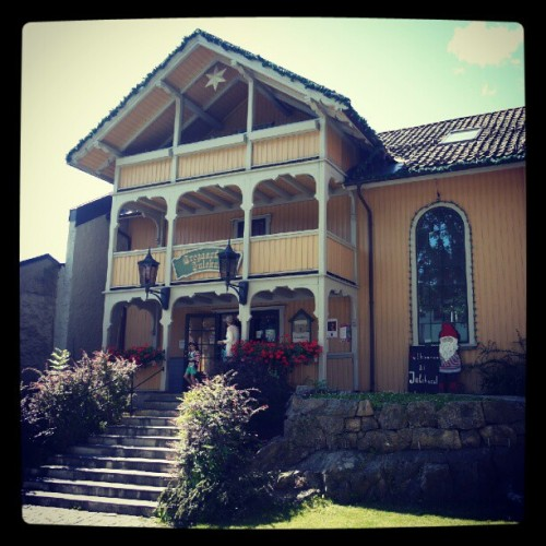 The Original Norwegian Home of #Santa in #Drøbak #Norge #æøå  (Taken with Instagram)